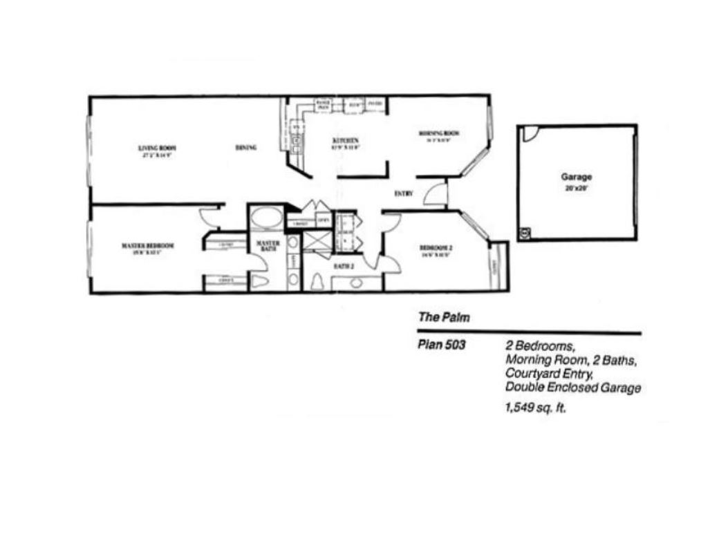 Floor Plan for Stunning and Amazing!! Newly Remodeled And Ready For You!!